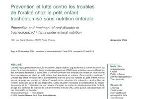 Alexandra's first scientific paper