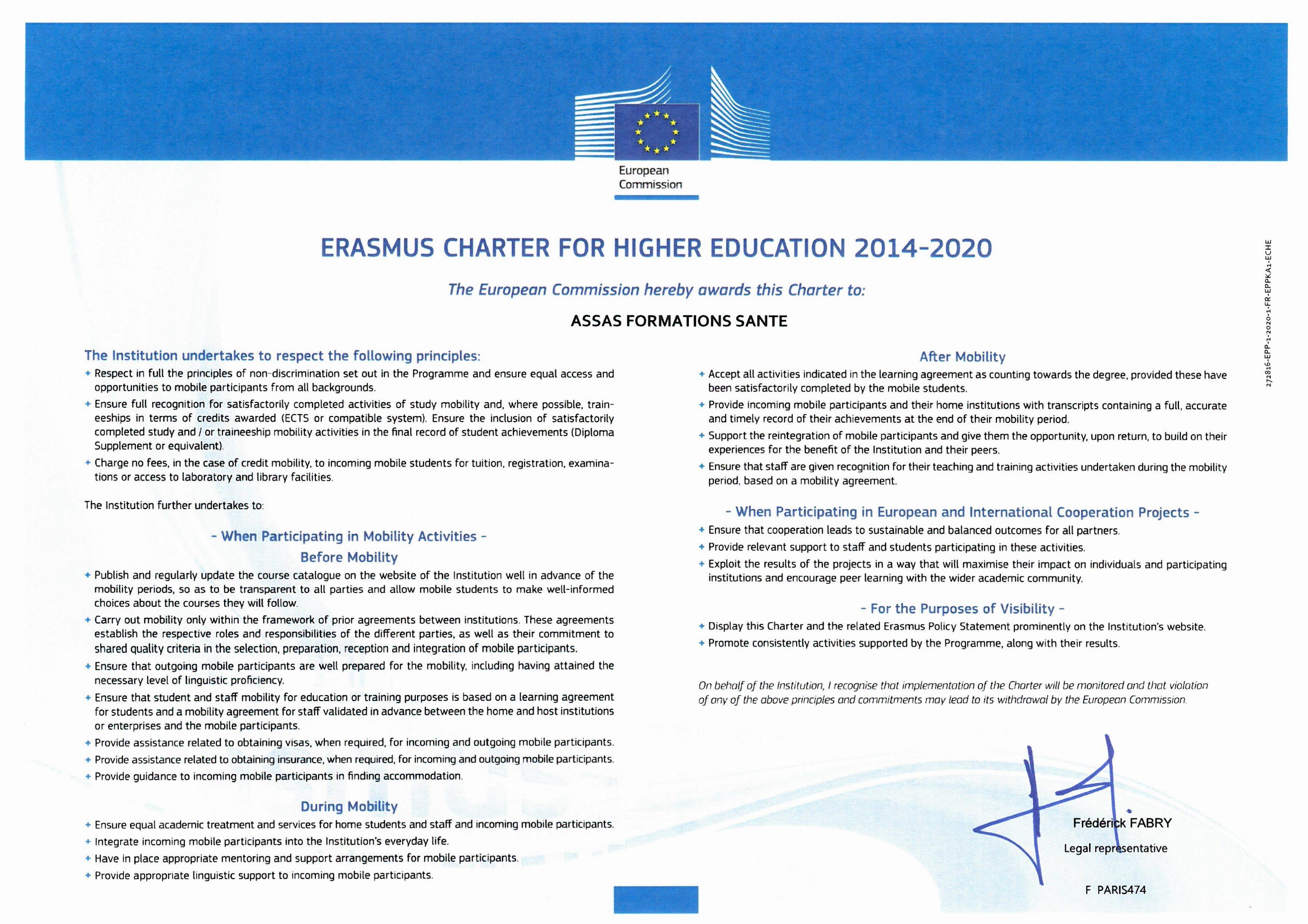 Erasmus ergothérapie